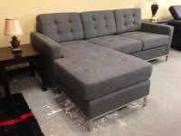 Brand New in Box Gray Sectional or Sofa4237 East Cesar