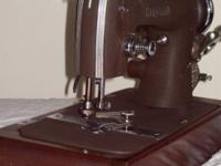 "Very clean. Well kept. A ""crinkle brown"" model on a"
