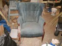 Once chair $40.00 (call to discuss price) in pretty