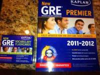 I have a Kaplan GRE book and Kaplan vocab flashcards.
