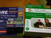 Kaplan 2014 GRE book, BRAND NEW with CD Kaplan GRE