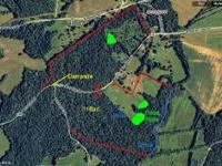 Great 116 ac hunting lease in Butler Co., Kentucky.
