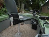 14.5 ft. fiberglass fishing watercraft with simple tons