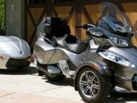 2012 Can Am Spyder RTS ( Semi Automatic )Black1,235
