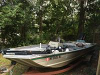 I'm wanting to trade my 2000 fisher 16ft aluminum side