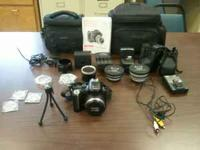 Great kodak camera and lenses three filter lenses and
