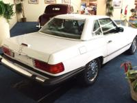 This 1988 Mercedes-Benz 560 SL Convertible has Soft &