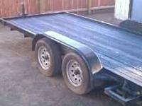 Carson trailer for sale. Has all new LED lights, and