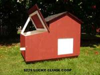 LUCKY CLUCK CHICKEN COOPS ARE BUILT IN PORTLAND FOR