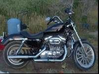 2007 Harley Davidson 883 Iron Sportster has low mileage