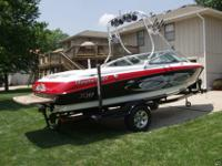 2004 MasterCraft X-10. No other boat like it. It's own
