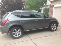 Meticulously maintained 2007 Nissan Murano. Gray