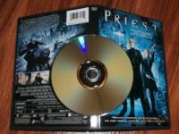 DVDs: $3 each Tags: Priest, AVP: Alien Vs Predator,