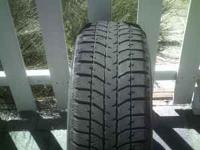 Set of (4) Four, Bridgestone Blizzak Studless Snow