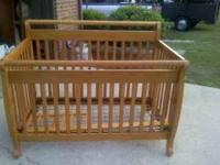 We are moving & no longer need this crib. It is in