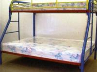 Brand New-- Metal Frame Bunk beds- You select the