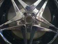 I have four new 20 in. Rims for sale with a PACKAGE