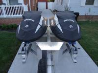 Both 2013 Sea Doo GTI SE 130 jet skis are dealer