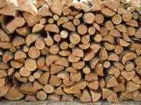 Split and dry red fir for 200/ cord (128 cubic feet)