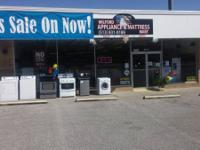 New Scratch and Dent or Reconditioned Appliances-- Stop