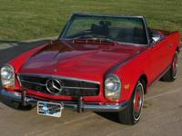 We just got in another very nice 280SL, this time in