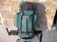 "1) Great Escape Pack. good condition. 29"" tall and 19"""