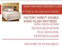 WE HAVE MATTRESSES AND BOX SPRINGS INCLUDING SPLITS