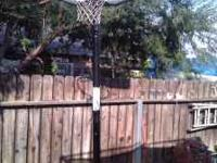 i am selling a mobile basketball hoop that is