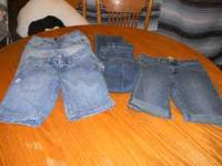 1-OLD NAVY LIGHT BLUE DISTRESSED JEAN SHORTS 1-LIMITED