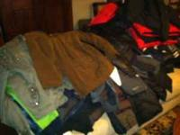 These are coats that were purchased in a liquidation