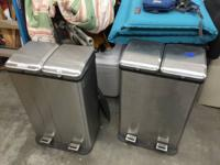 For sale - Recycle / trash cans  $20 ea. 2 Levolor