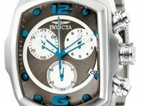 Invicta Rounded Rectangular Lupah Revolution Swiss
