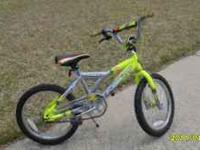 Great bike for a young rider. This bike was my son's