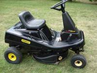 This is a great little mower for the smaller yards and