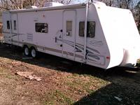 2005 trail cruiser camper, one slide out in kitchen