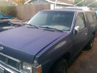 I have a 94 Sapphire Blue Nissan XE Pickup for sale (as