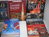 Outstanding condition books of Military History and