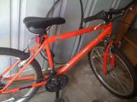 i have an adult owned mountain bike. its 26 inches and