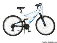 Adult mountain bike Steel frame Oversized dual