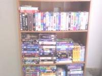 VHS with case 50 cents without case 25 cents or all for