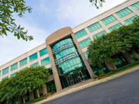 The business center in Durham Meridian Parkway provides