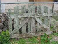 HRE Is a great pair of old garden gates with the real