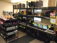 Garten Electronic and Reuse Store.  Open on Friday's