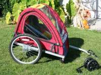 Great bike trailer in excellent condition! Comes with