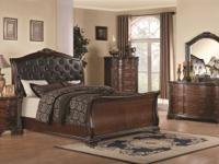 WE CARRY A FULL OPTION OF GORGEOUS SOLID WOOD ROOM