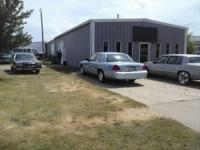 519 W poplar st. Its a nice location for business an we
