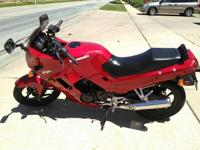 2006 Kawasaki EX250 Always garage kept. Only one owner.