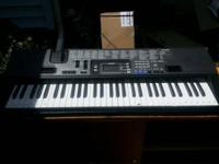a Keyboard. 1st Guitar: Fender Squire EUC.  Includes