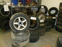 We have lots of near new tires and rims for sale at