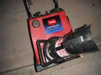 Toro PowerLite Snowblower, runs great, nice shape,